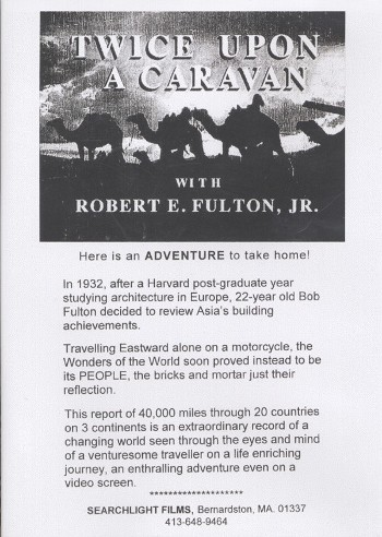 TWICE UPON A CARAVAN – Robert Edison Fulton jr.