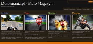 Motormania.pl - Moto Magazyn