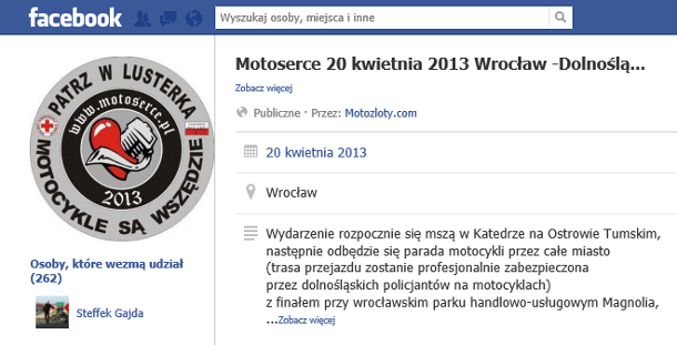 motoserce na FB
